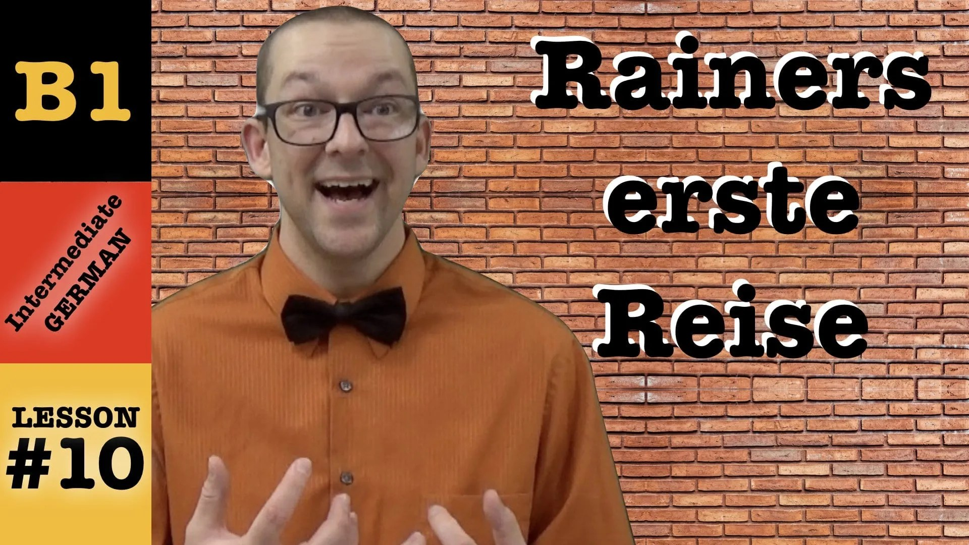 Rainers Erste Reise