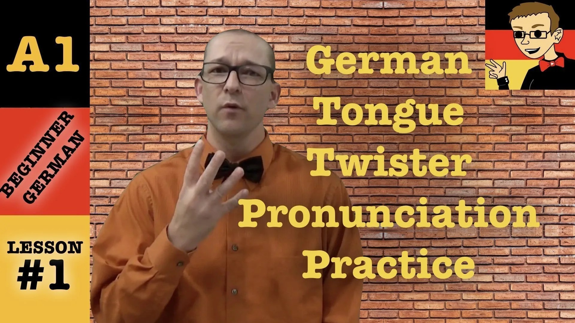 German Pronunciation Guide
