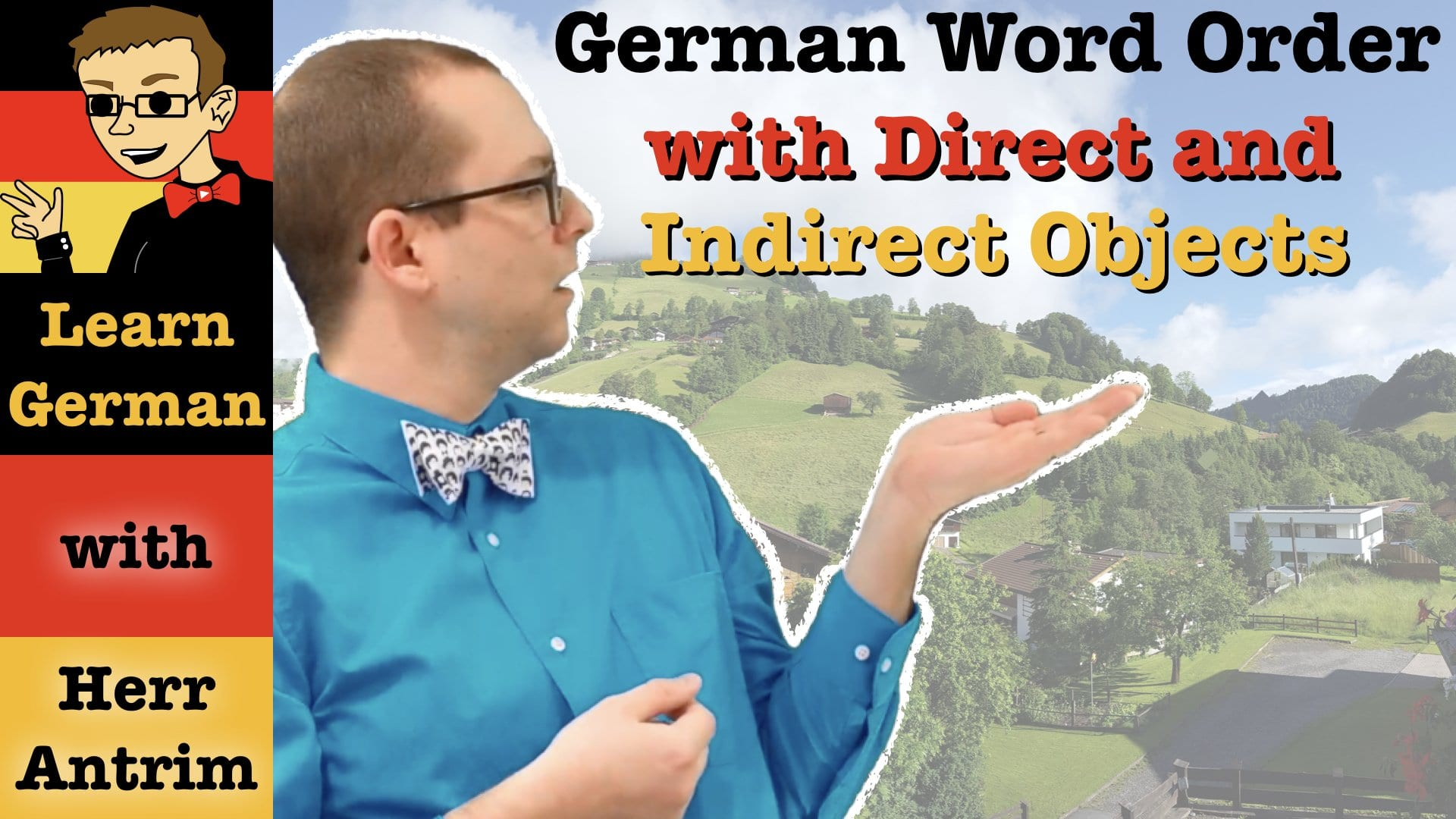 Direct Amp Indirect Object Word Order