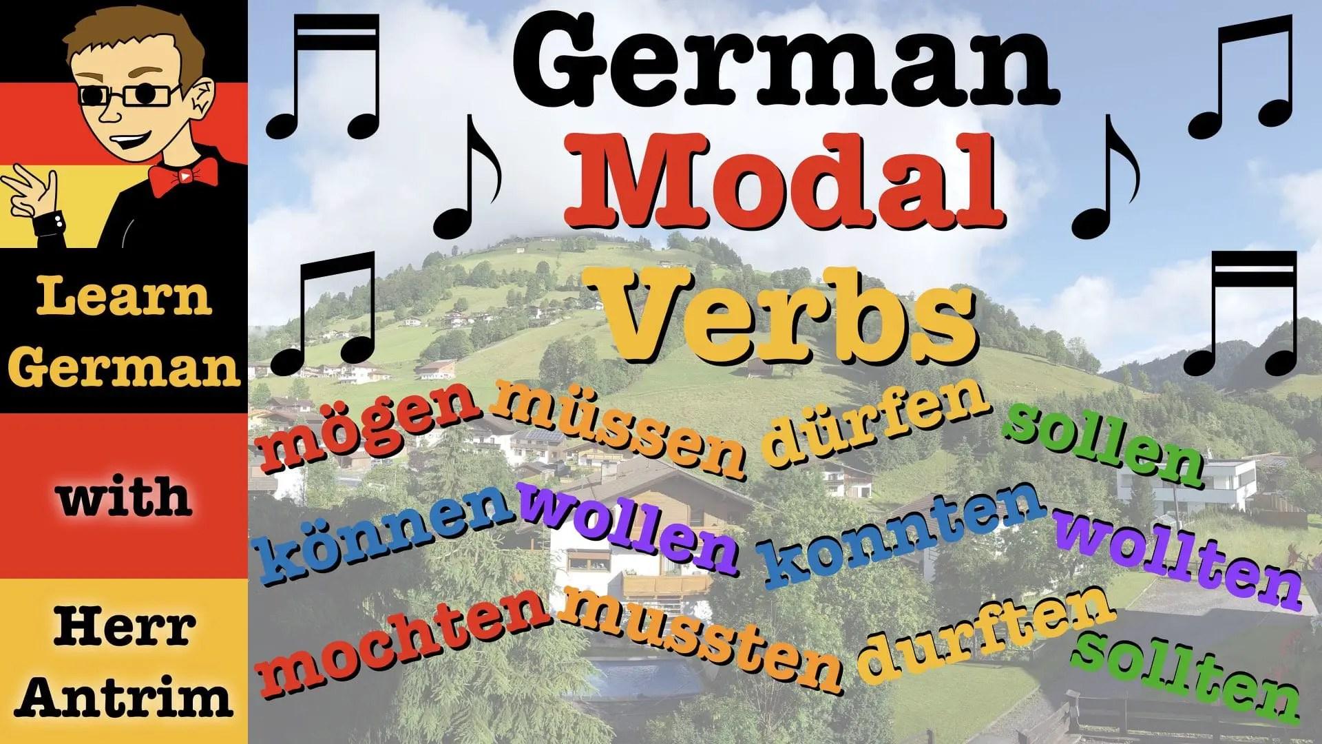 German Modal Verbs Song
