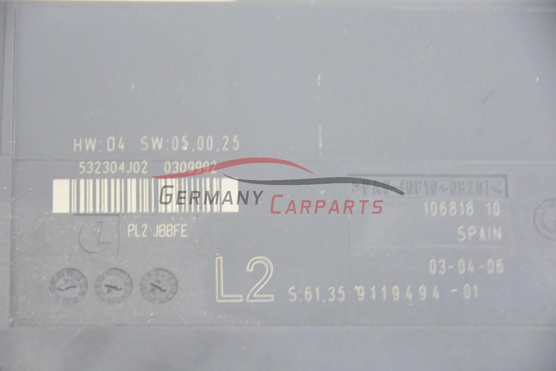 Original BMW 1er E87 Junctionbox Grundmodul Steuergerät