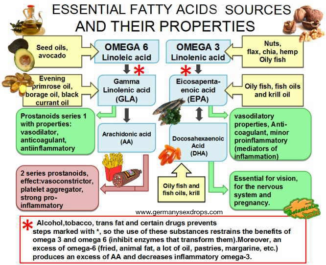 Essential Fatty Acids and Libido