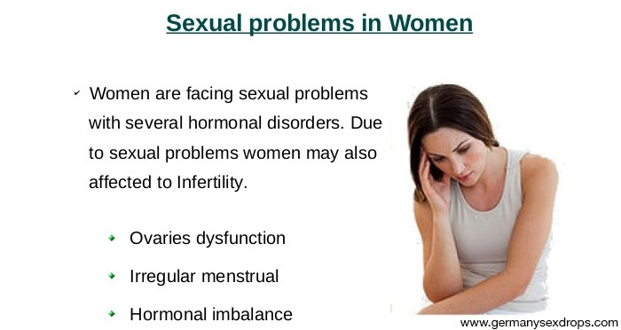 Sexual Problems in Women