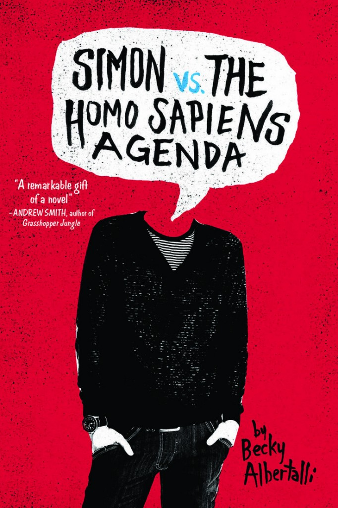 ... Talks about Writing Her New Book: Simon vs. the Homo Sapiens Agenda