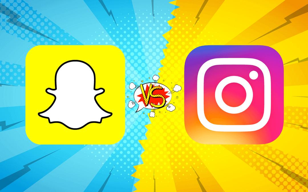 Instagram Stories vs. Snapchat – Was ist für Unternehmen besser?