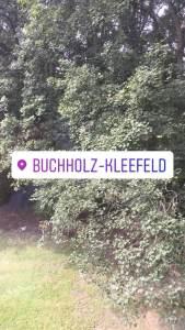 Instagram-Geofilter für den Stadtteil Buchholz-Kleefeld
