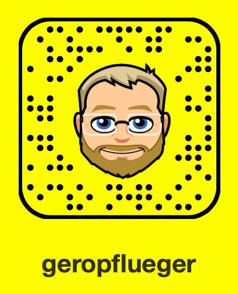 Snapchat-Snapcode von Gero Pflüger