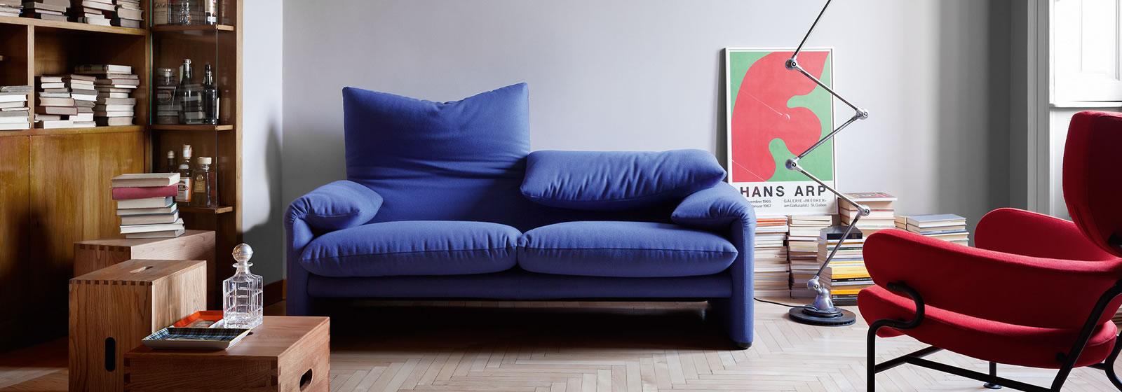 Maralunga Cassina  divano maralunga cassina