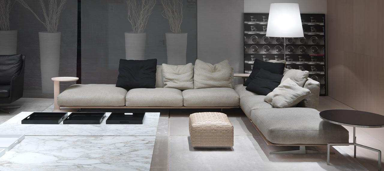 soft sofa material solid wood bed dream flexform