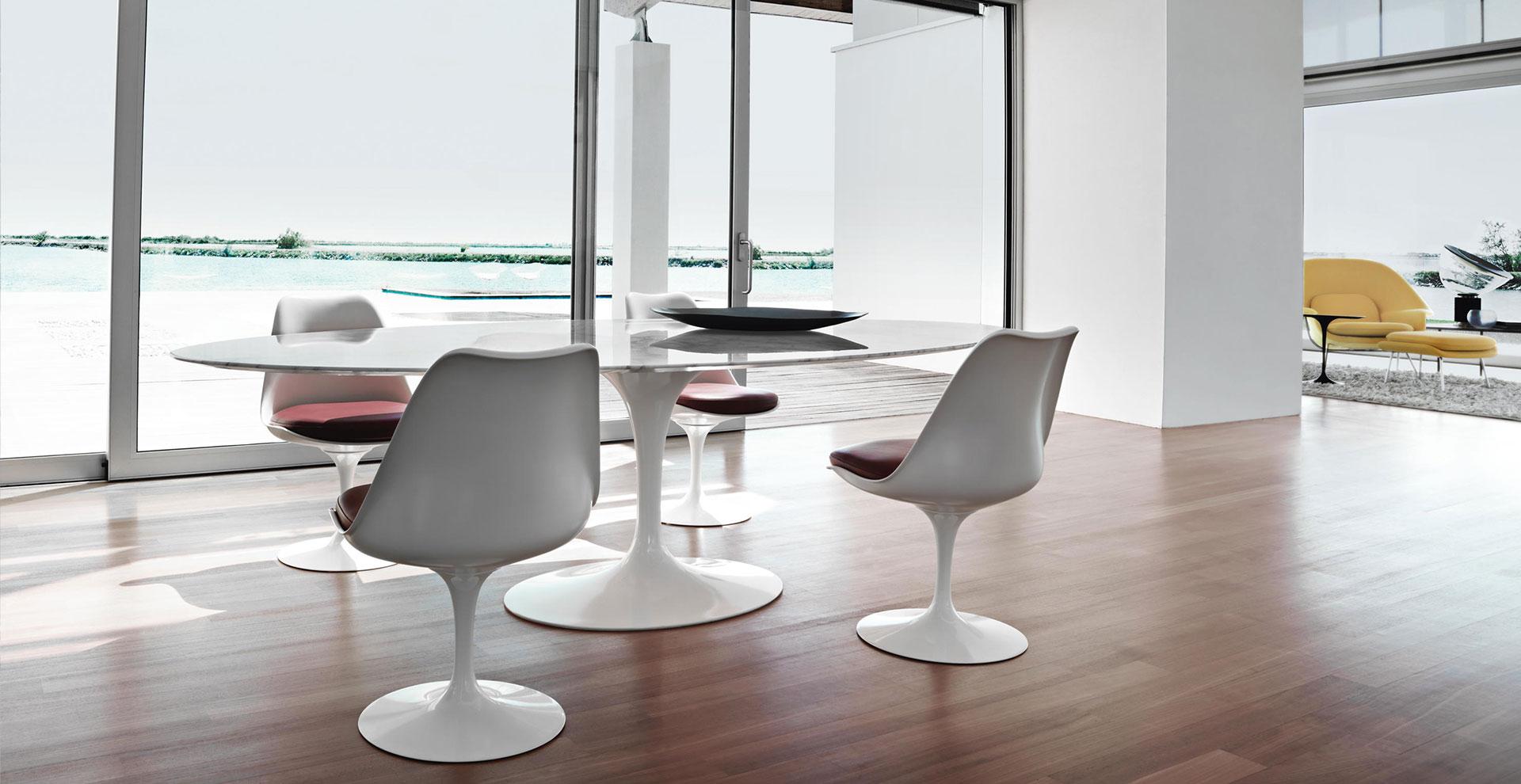 Tulip Chair Saarinen Knoll International  sedia tulip