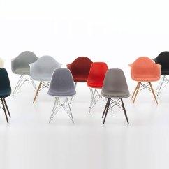 Eames Fiberglass Chair Small Massage Plastic Side Vitra - Sedia