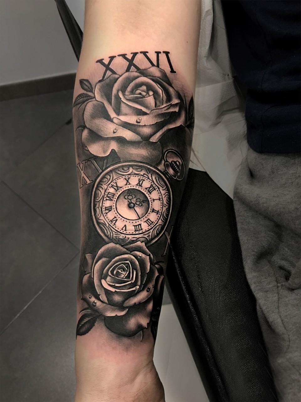 Tattoo Reloj De Arena Pin De Nico En Tatouage Torse Pinterest