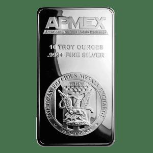 10 ounce silver bar