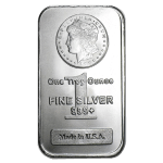 1 ounce silver bar usa