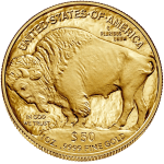 2021 1oz Gold Buffalo Coin reverse
