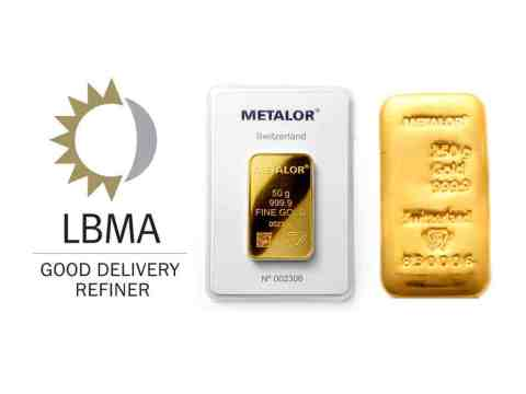 What is a LBMA gold bar?