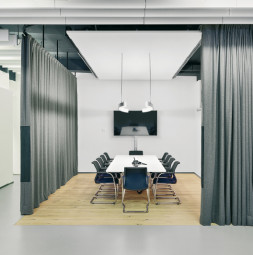 Acoustic Curtain Systems Acoustics Products Gerriets