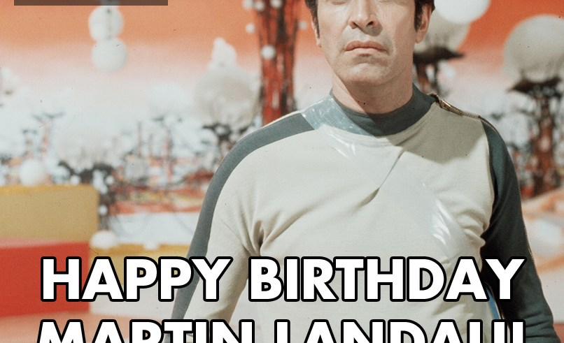 Happy birthday Martin Landau