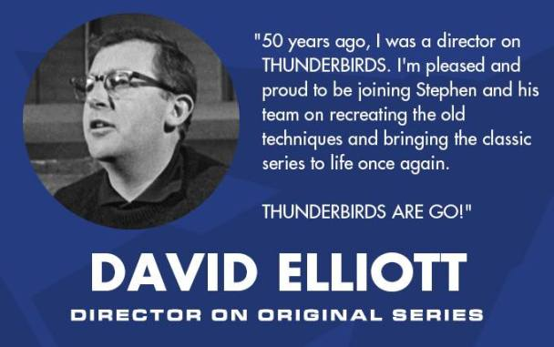 David Elliott to direct Thunderbirds prequel