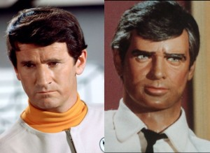 Keith Alexander as Lt. Keith Ford (left) and Sam Loover (right)