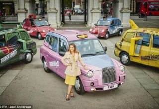 Thunderbirds Taxis are Go in London
