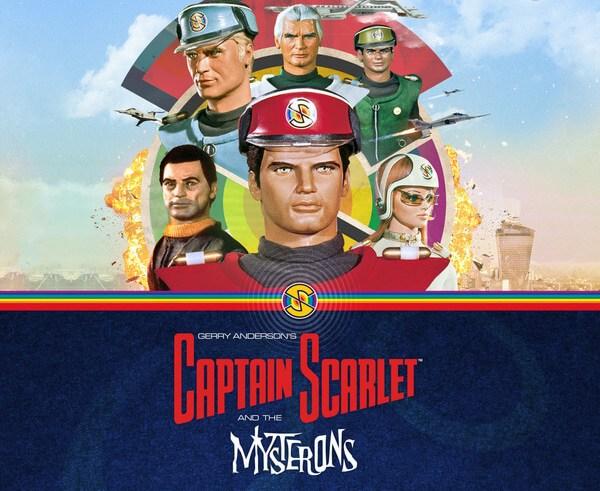 Free Captain Scarlet audio
