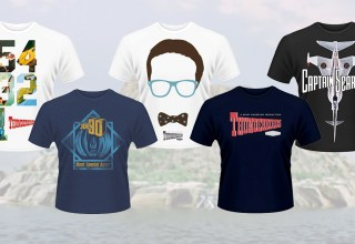 50% off Gerry Anderson t-shirts this weekend