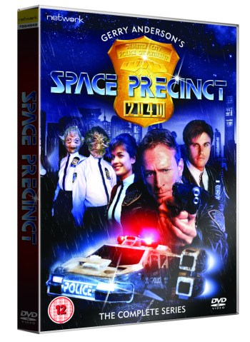 Space Precinct Complete Series DVD