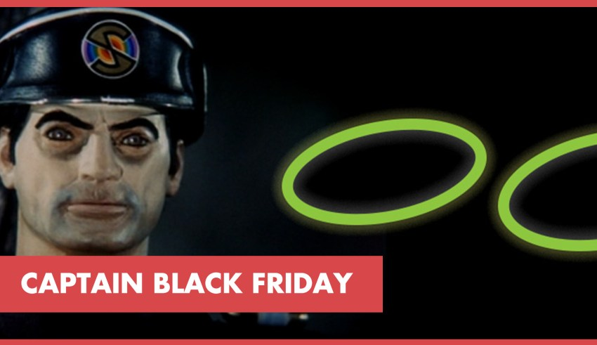 Captain black Friday Sale event