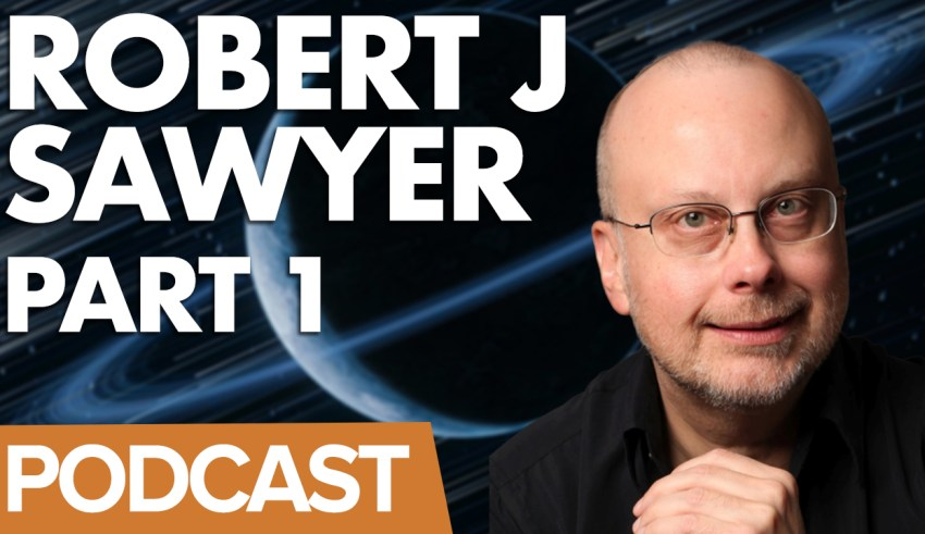 Robert J Sawyer on the Gerry Anderson Podcast
