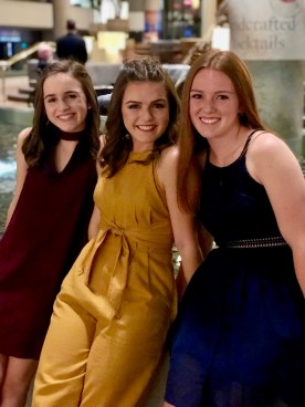Allie is a freshman in high school,Kate is a sophomore in college, and Tori is a senior in high school.