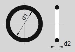 2 Antriebsriemen Rund Riemen Peesen ab 66 mm Durchmesser NEU