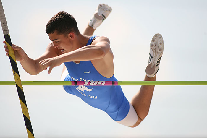 Pole vault - ©2009 Max Gersh