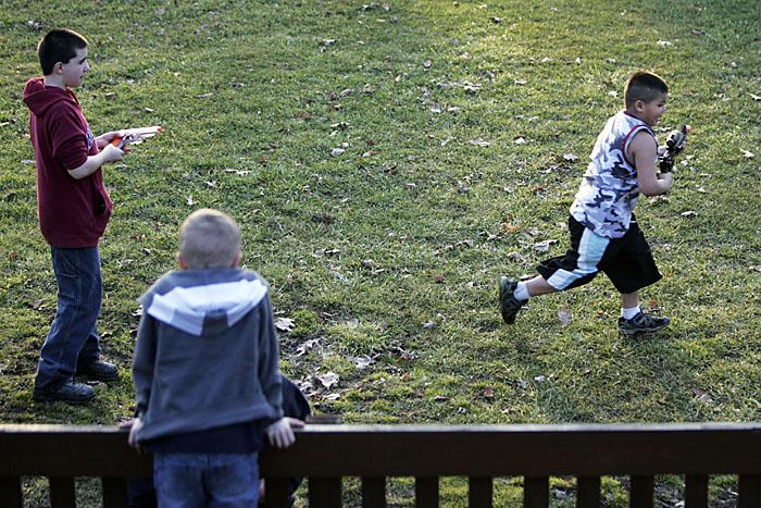 Kids at Baker Park