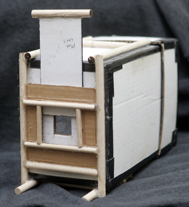 My pinhole camera. ©2011 Max Gersh
