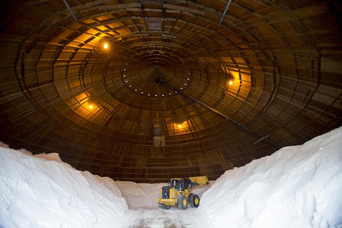 Salt dome