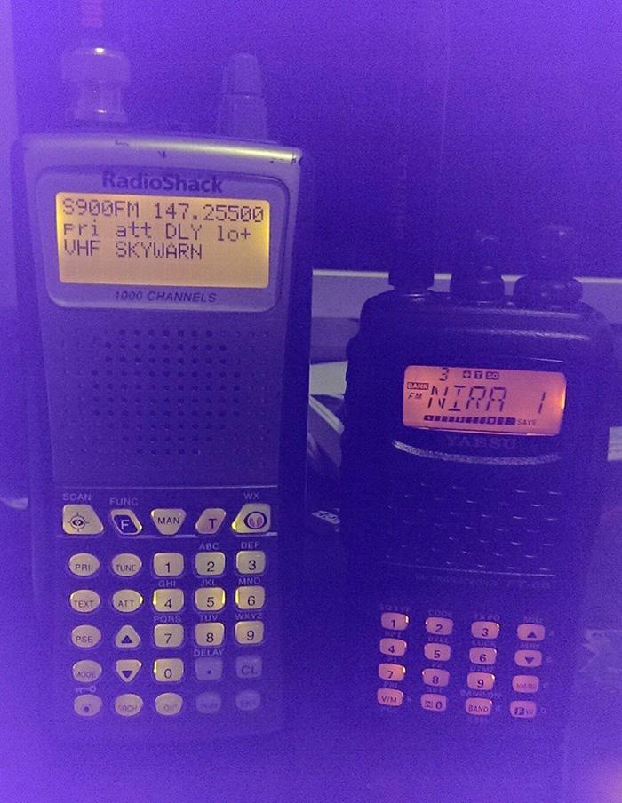 Scanner and ham radio