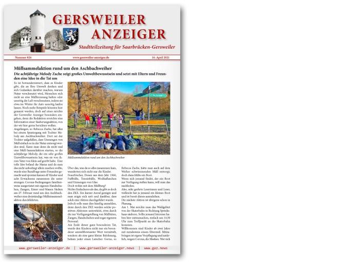 Gersweiler Anzeiger 04/2021
