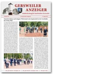 Gersweiler Anzeiger 08/2021
