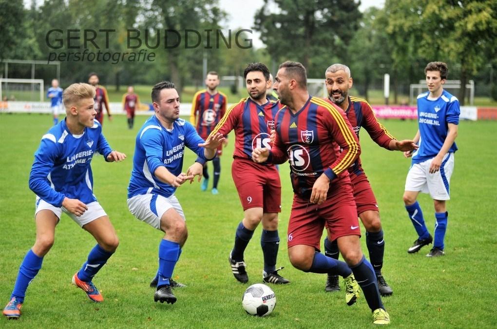 Duel tussen RVW en Elsweide (2-0) ontsierd handgemeen