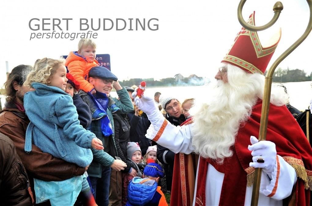Enorme drukte Sinterklaas intocht Renkum