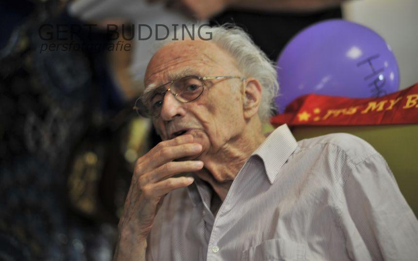 Bereisde John Meulkens viert 100ste verjaardag in Verburtg-Molhuysen Staete