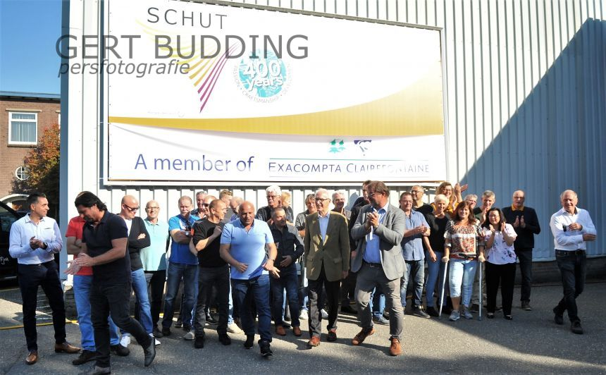 Papierfabriek Schut Heelsum viert 400-jarig bestaan
