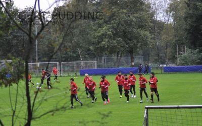 Nationale voetbalselectie Japan te gast in Doorwerth