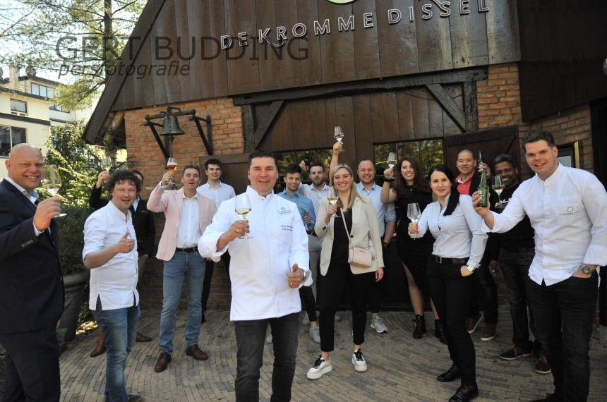 50ste Michelinster voor De Kromme Dissel, chef-kok Tonny Berentsen ontvangt zijn 20ste