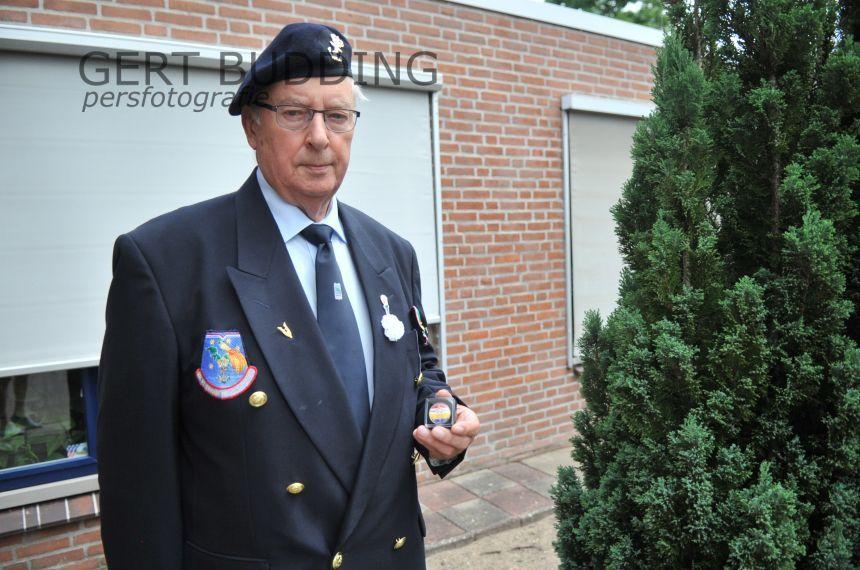 Burgemeester Agnes Schaap vergeet Veteranendag niet, Renkumer Jan van Drunen dankbaar