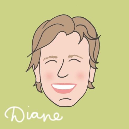 Diane portret