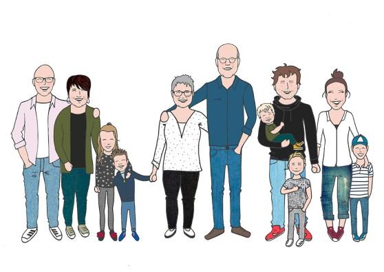Familie Spijkerbroek kleur