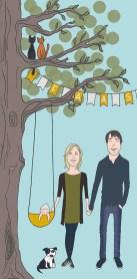 Fieke & Jan - geboortekaartje - voorkant - rgb