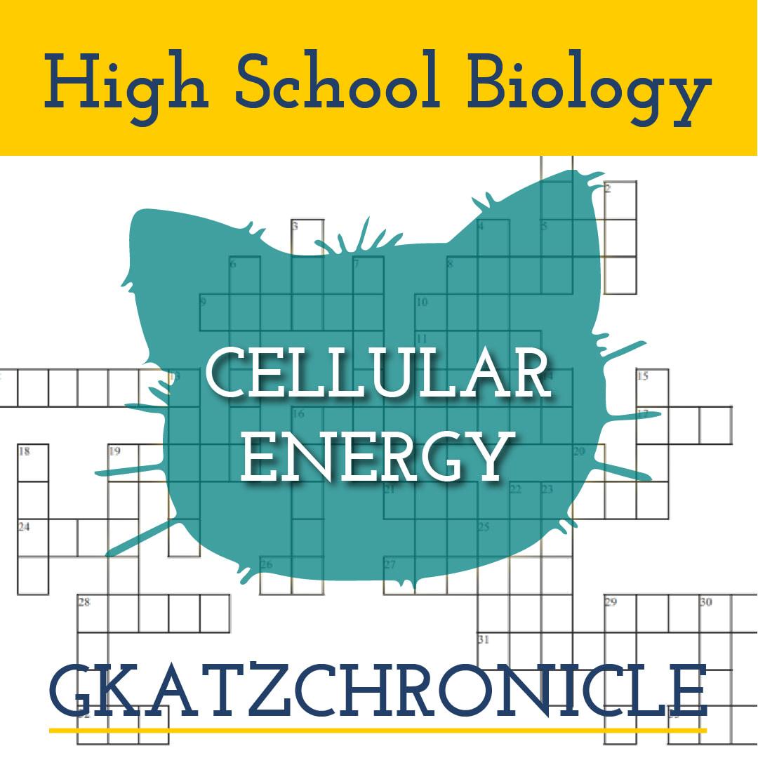 Cellular Energy Review Crossword 1